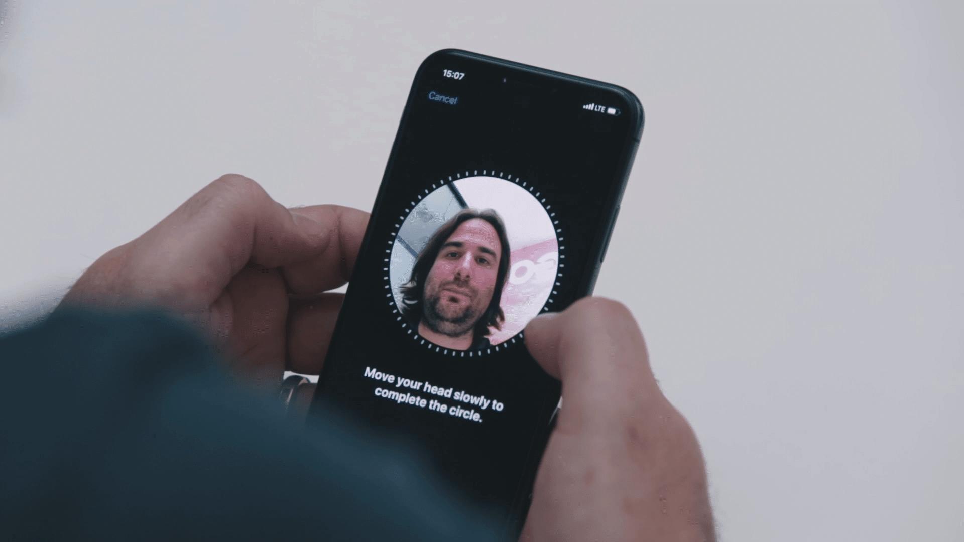 ian biometric authentication HSBC Malta facial recognition