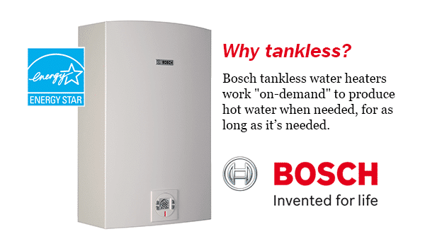 bosch gas water heater