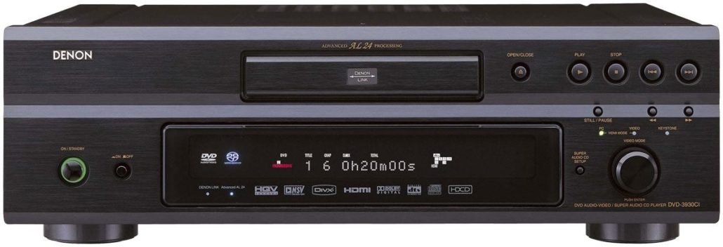 obsolete household item - dvd player