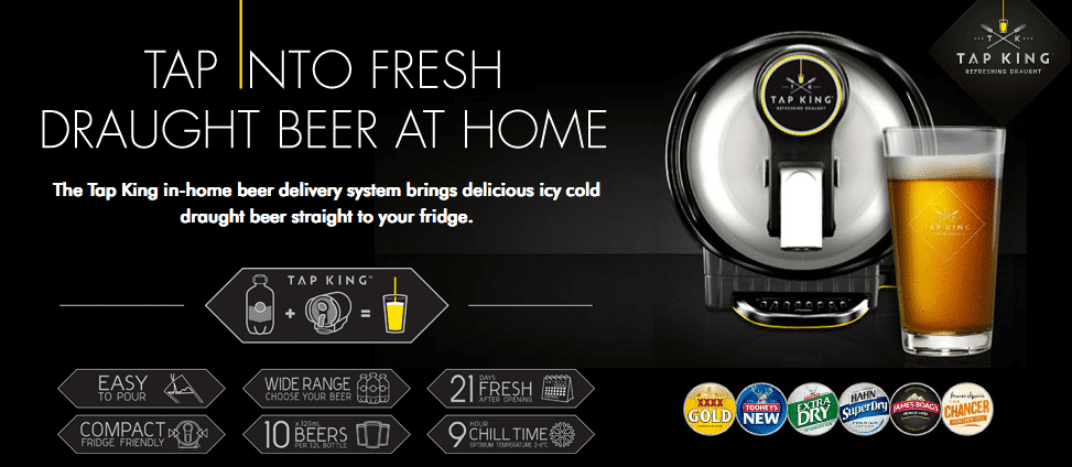 beer tap for home by tapking