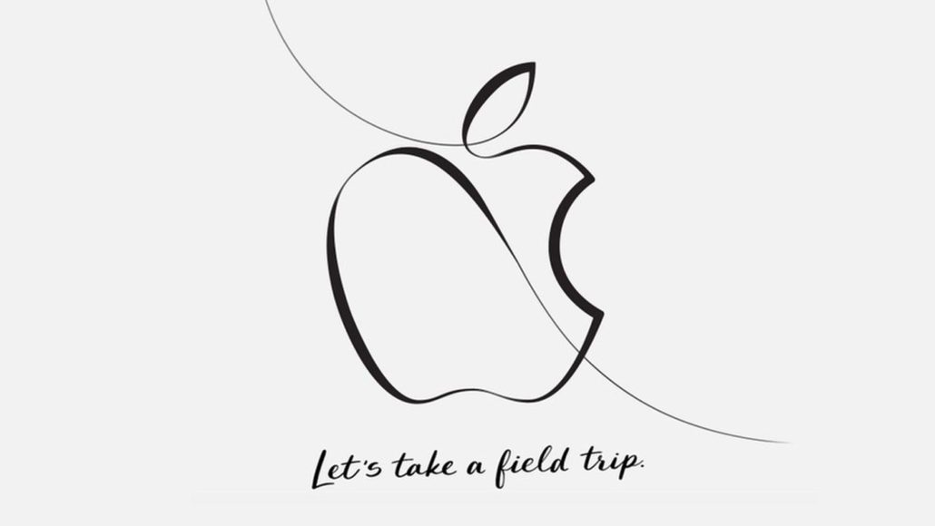 apple invites press using lets take a field trip
