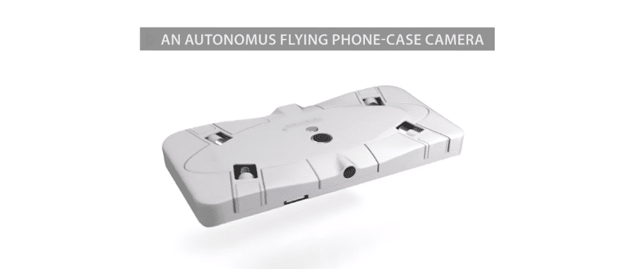 mobile world congress The Selfly mobile phone case drone