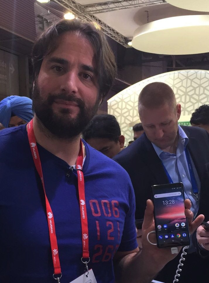 mobile world congress Nokia 8 Sirocco