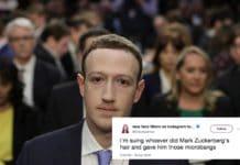 mark zuckerberg tweet and meme