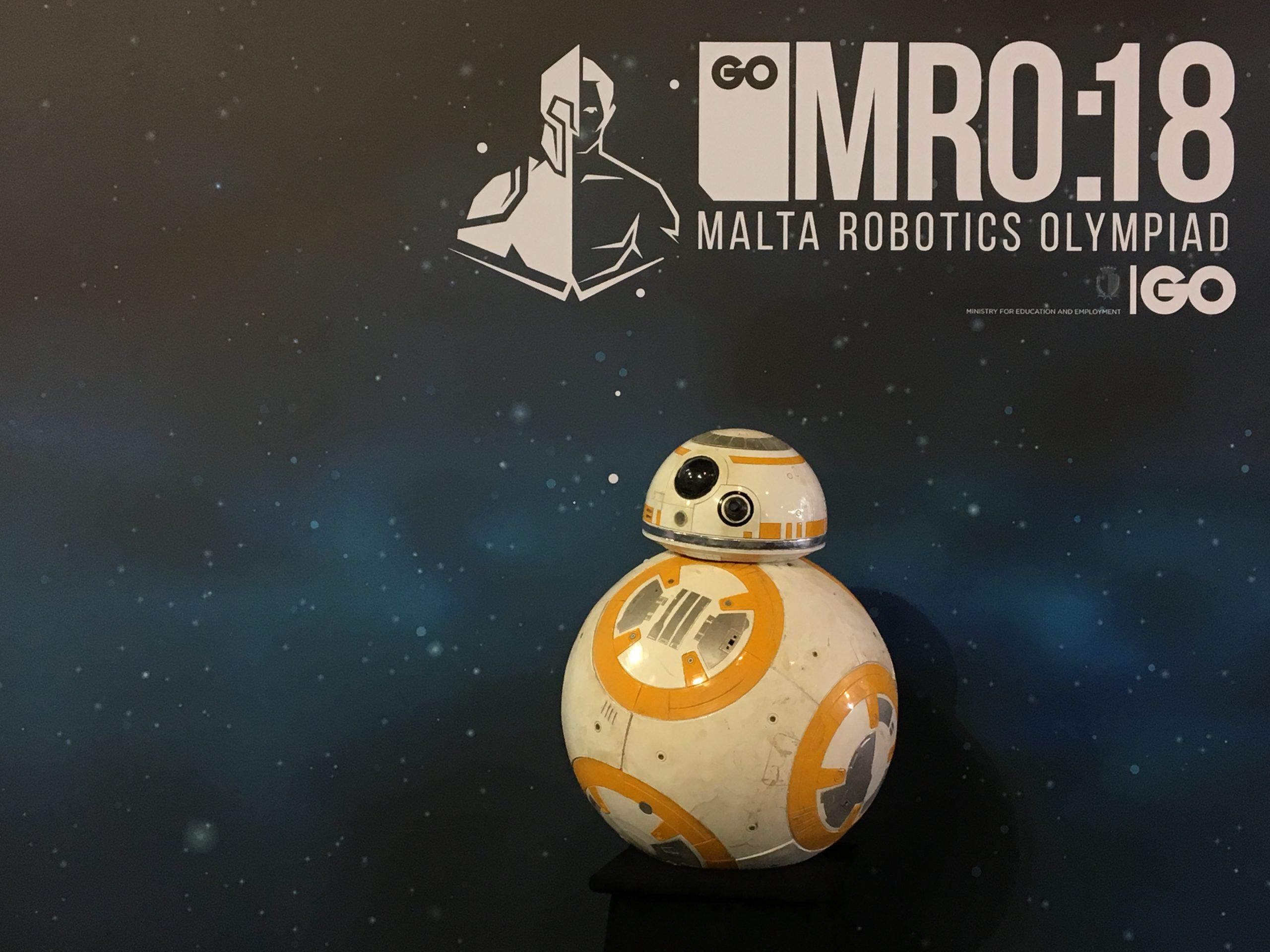 BB8 Go Malta Robotics Olympiad