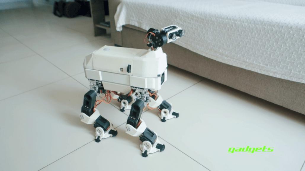 dog robot malta