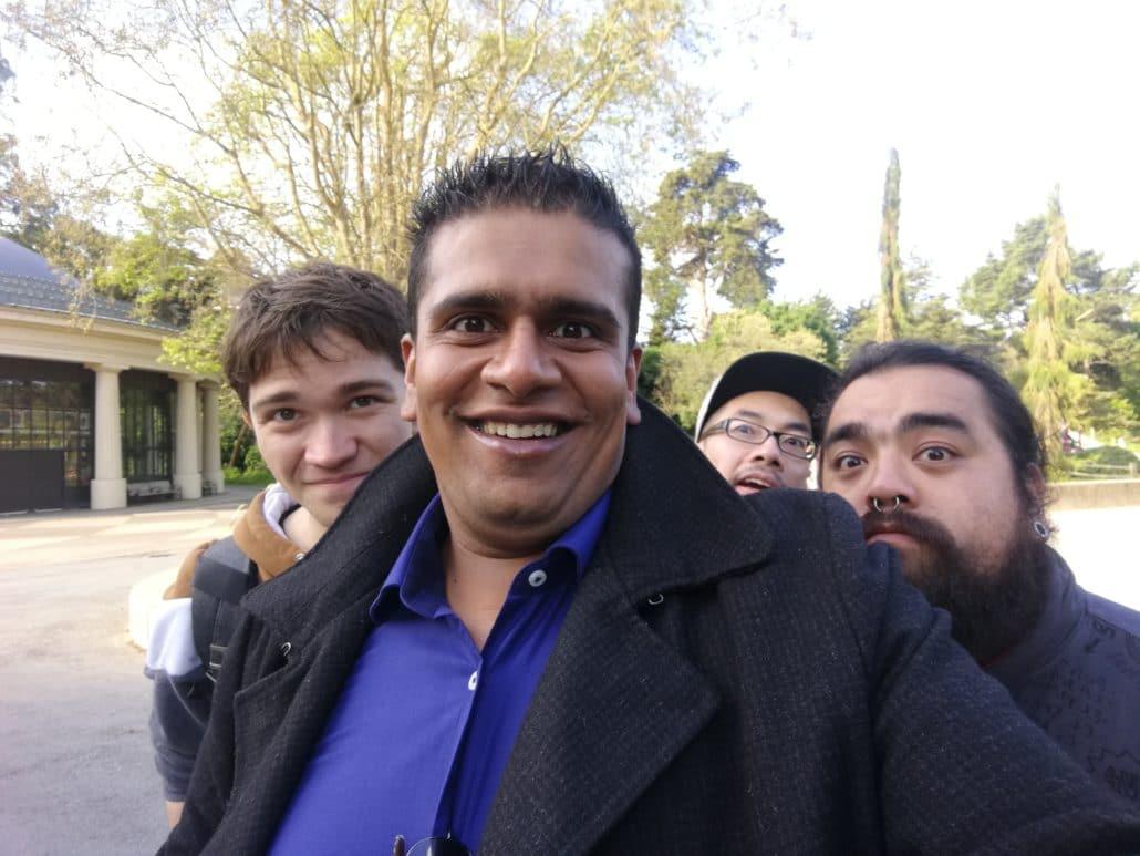 selfie photo group
