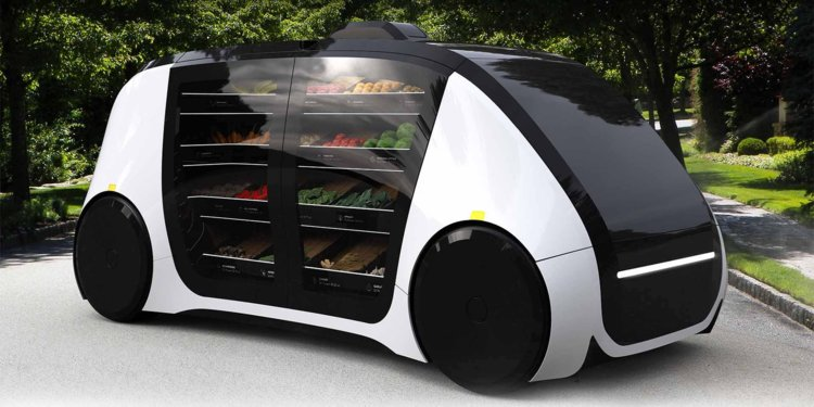 self driving grocery
