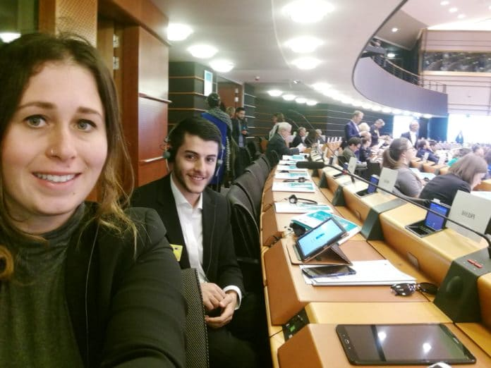 sasha steve experience at eu parliament