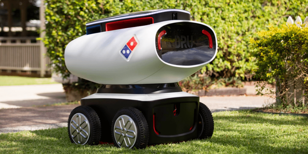 self driving food delivery robot