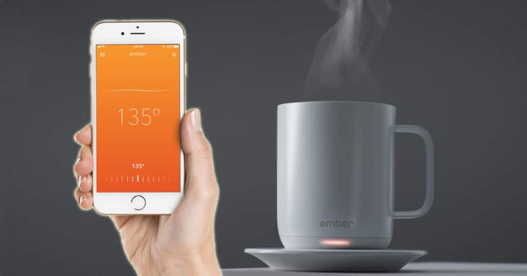 ember temperature controlled mug Tech gifts for mother this mothers day gadgets malta