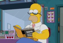 homer simpson learning about GDPR