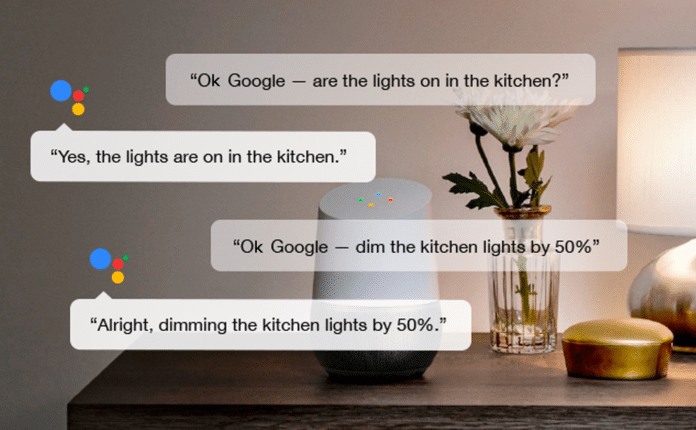 google home chat google assistant ai