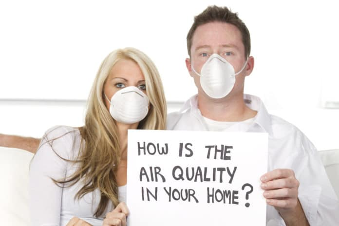 How clean is the air quality in your home