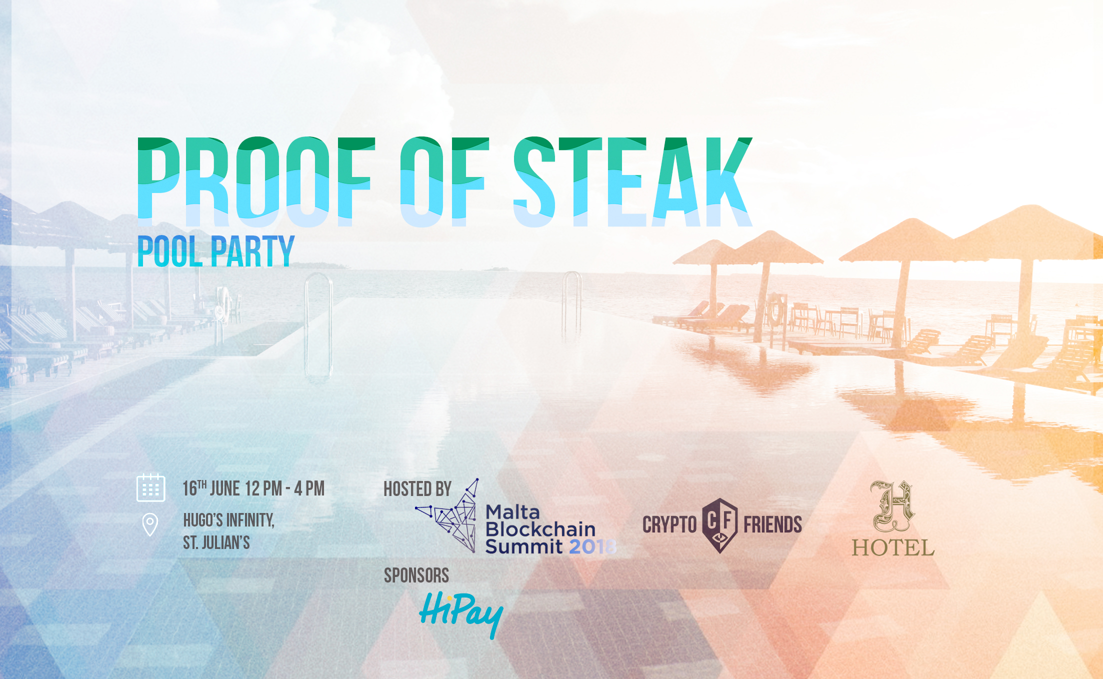 Malta Blockchain Summit Proof of Steak Pool Party Hugos
