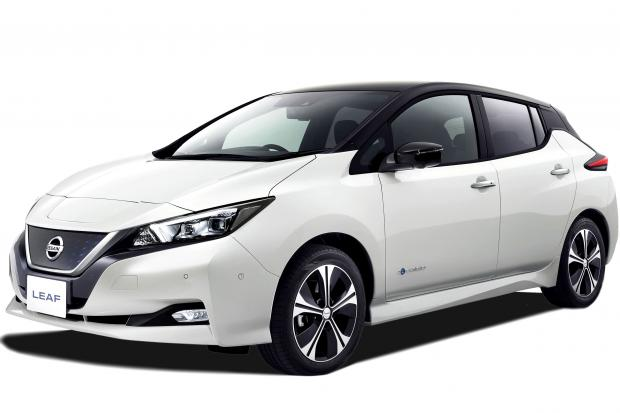 nissan leaf electric car vehicle