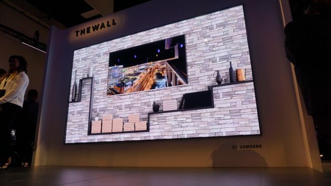 samsung the wall 8k television gadgets
