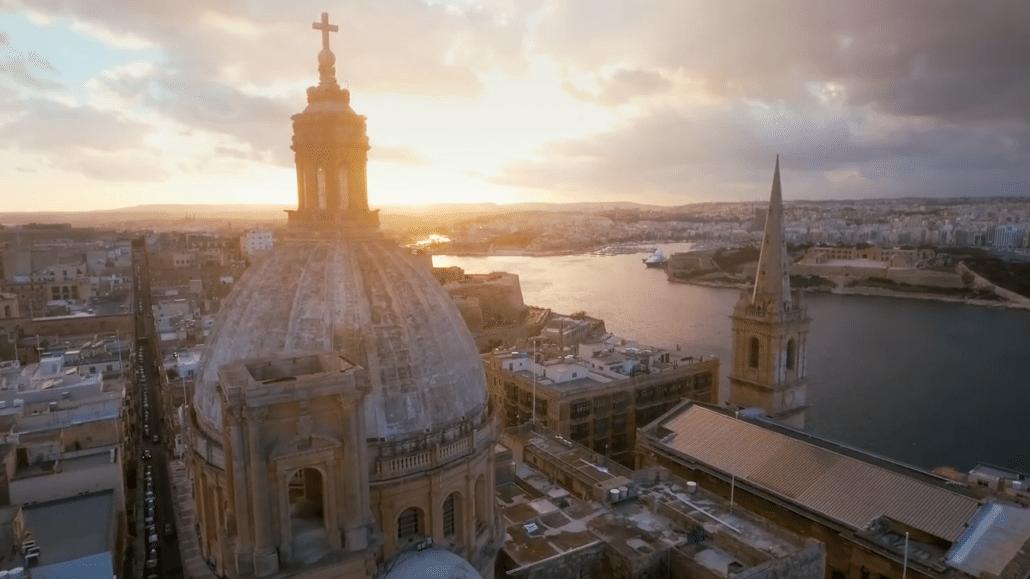 amazing shot malta church