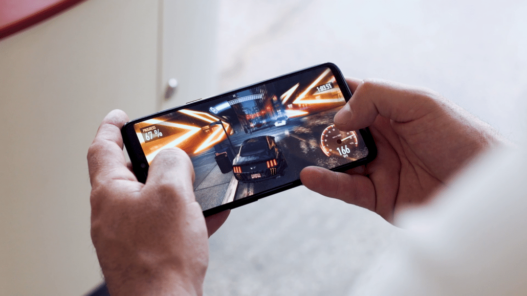 Gaming on the Oneplus 6