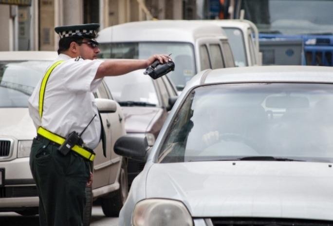 malta drunk driving breathalyser wardens police