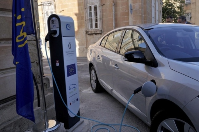 electric cars malta point port charge