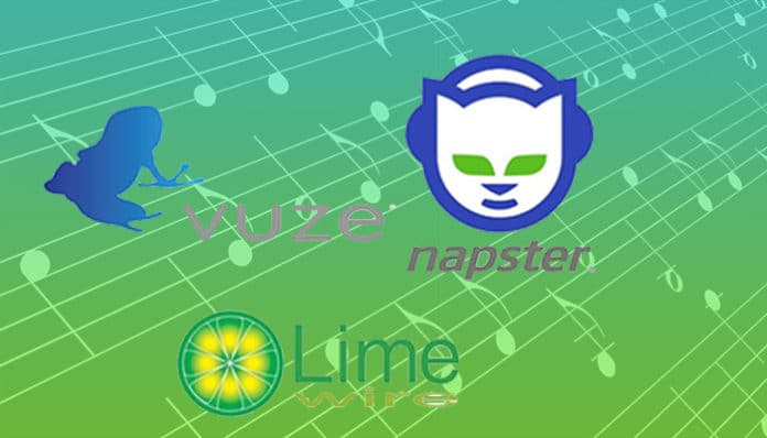 music stream download limewire ares vuze napster