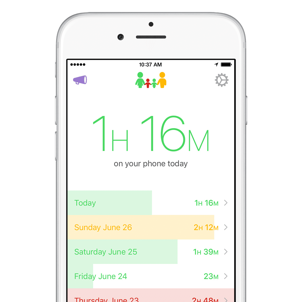 moment app monitors iphone usage