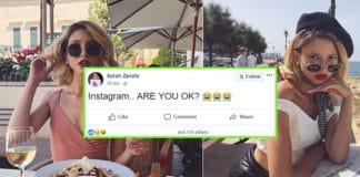 sarah zerafa instagram down