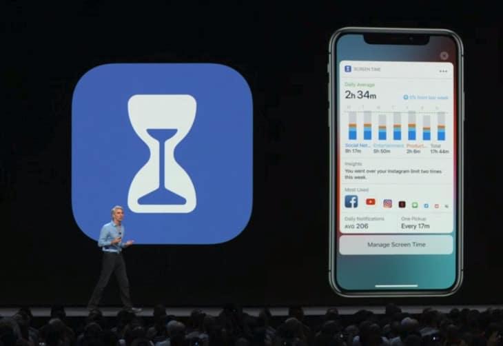 screen time app ios 12 wwdc