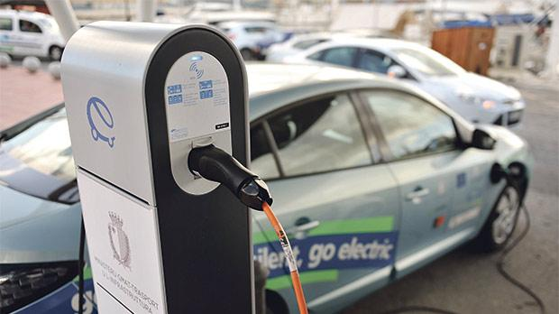 Low amount of electric car charger malta