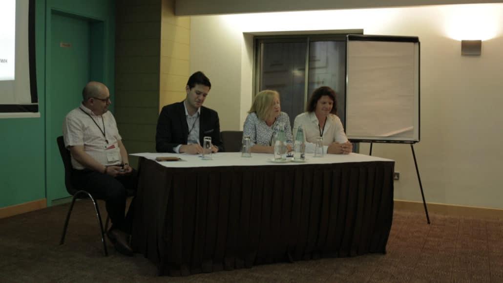 Panel discussing AI