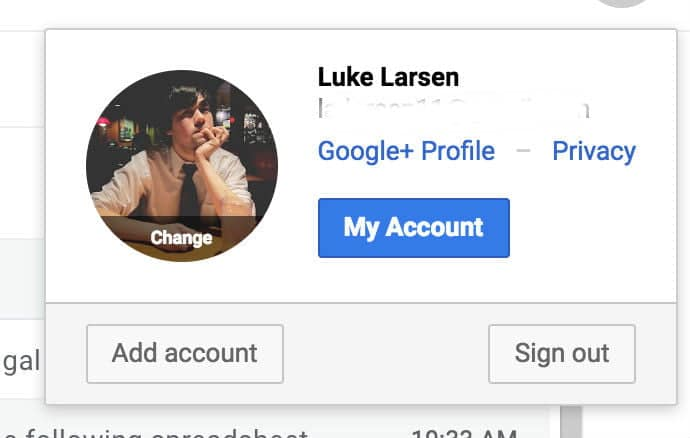 account google profile picture