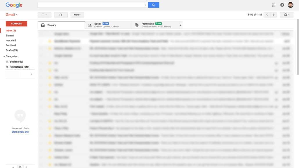 gmail page screenshot