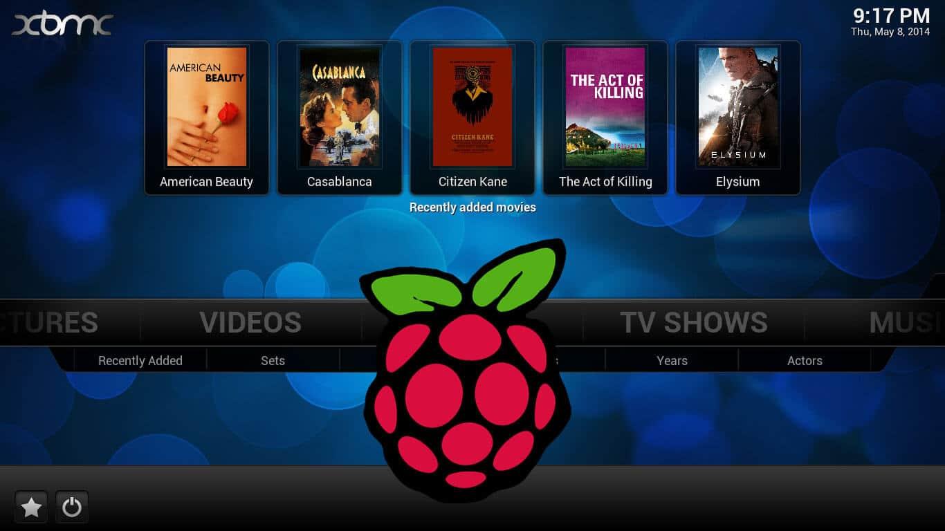 Raspberry Pi openelec