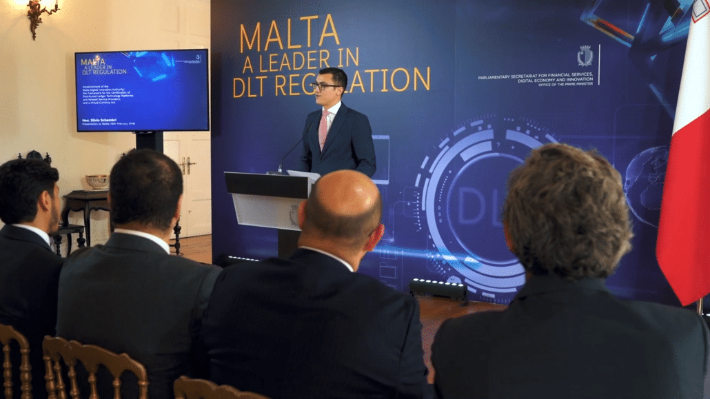 Malta leading the way in regulating the Blockchain