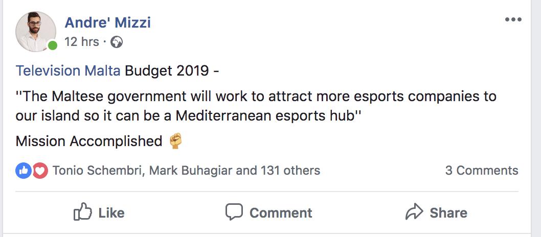 esports in malta
