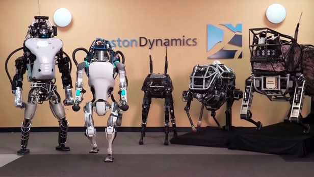 Robots to replace humans