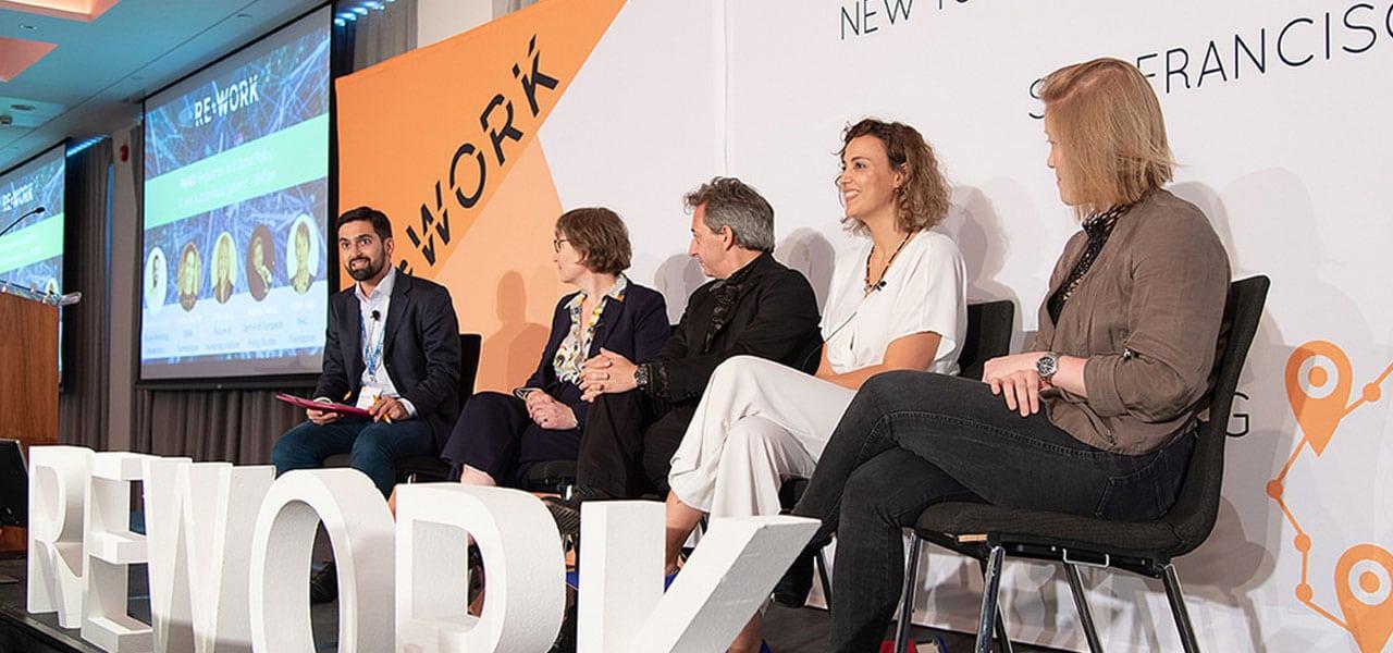 People on panel