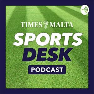 "cover art ""times of malta sports desk podcast"""