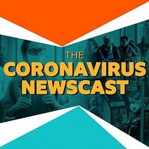 "cover art - ""The Coronavirus NewscasT"""