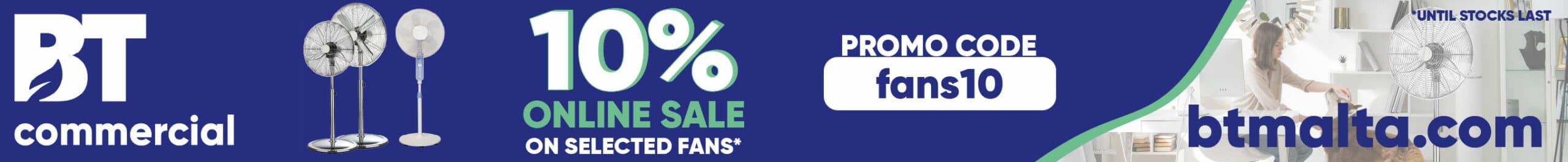 BT Commercial 10% Fans Leaderboard