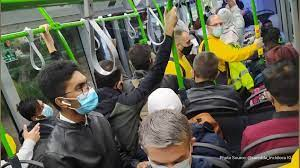 Crowded buses during pandemic raise concerns